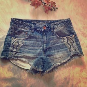 American eagle outfit festival high rise short